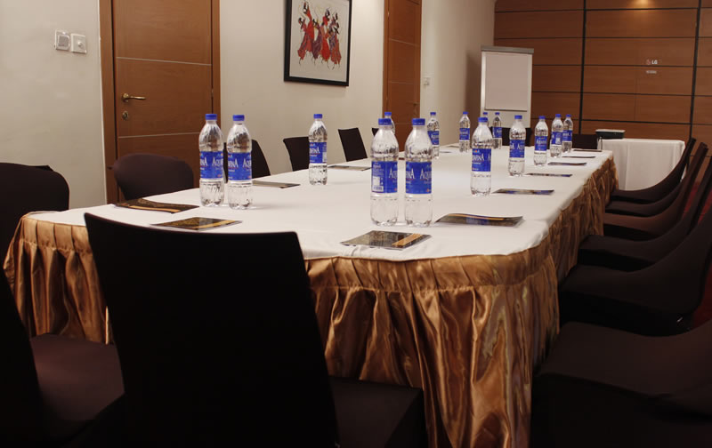 This fully furnished hall is located at the basement of the hotel, to give guests privacy, a quiet environment and most importantly, comfort during their event